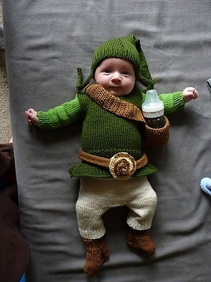 Knitted baby Link