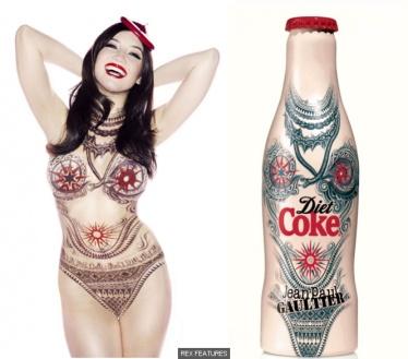 Daisy Lowe diet-coke2