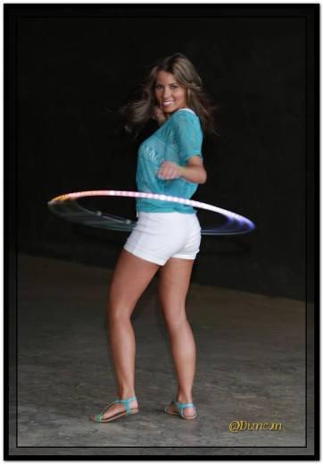 Katie Sunshine hulla hoops
