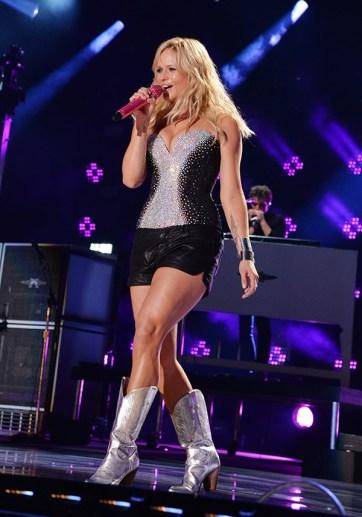 Miranda Lambert shorts