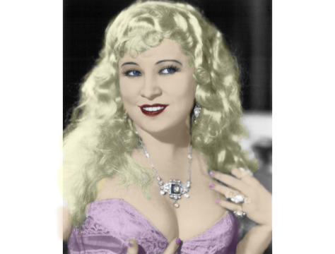 Mae West in Color