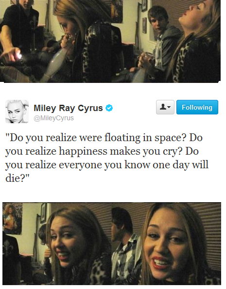 A Serious Thought by Miley Cyrus