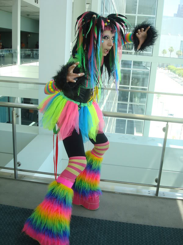 rainbow-cybergoth