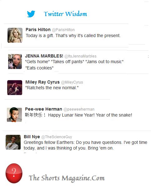 The Wisdom of Twitter