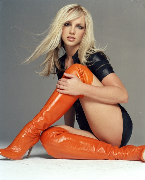 Britney's knee highs