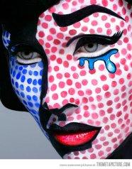 comic makeup