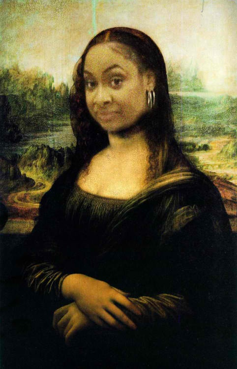 Raven Samone Mona Lisa