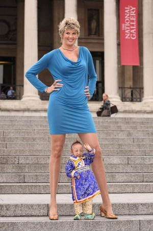 worlds tallest woman