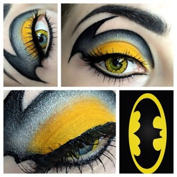 Batman logo Eyes
