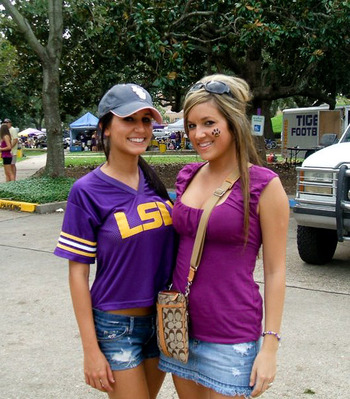 Pictures of sexy girls at lsu authoritative