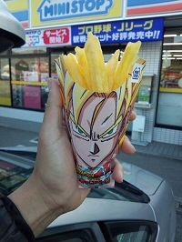 dragonball z fries