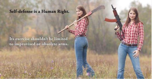 farm girl self defense