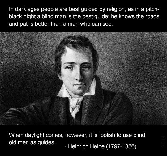 Heinreich Heine Just Owned You