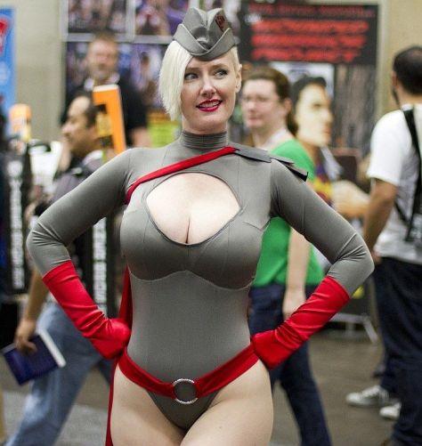 sexy cosplay girl