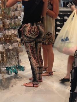 Wild yoga pants