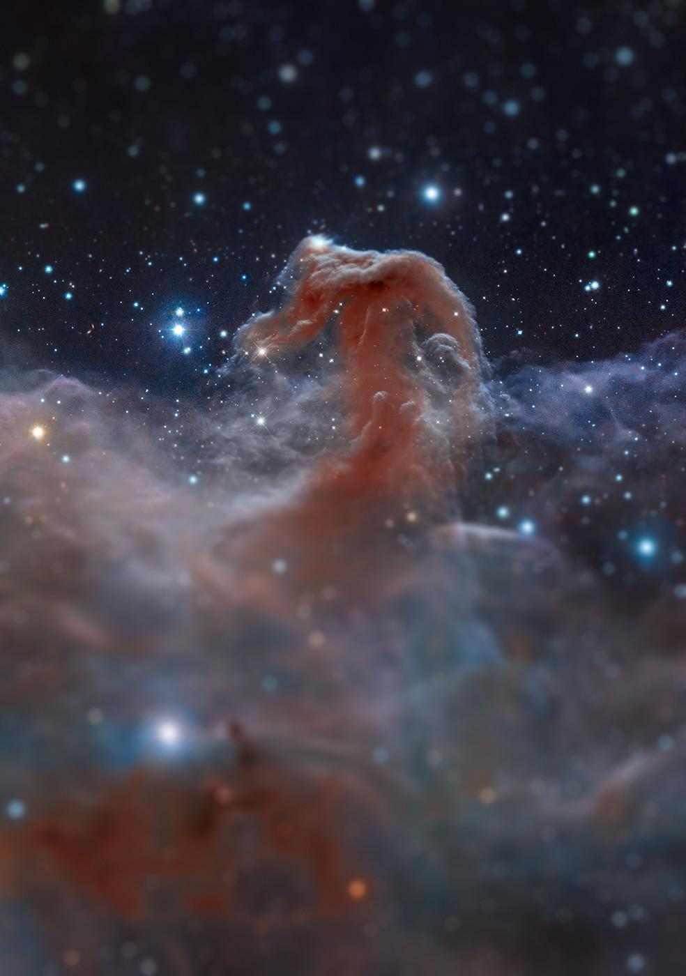 tilt shift crab nebula