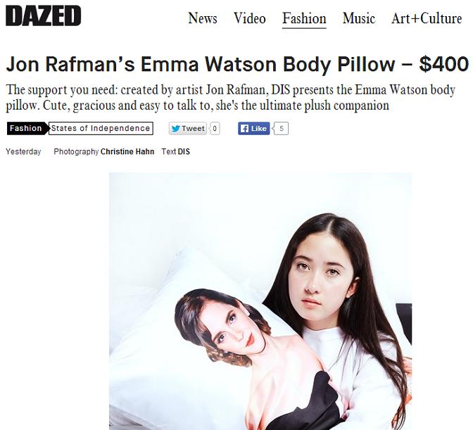 sleep with Emma Watson