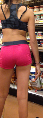 hot pink shorts at walmart