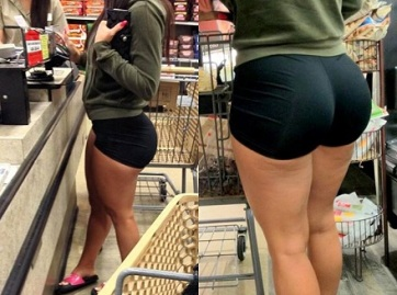 yoga shorts in walmart
