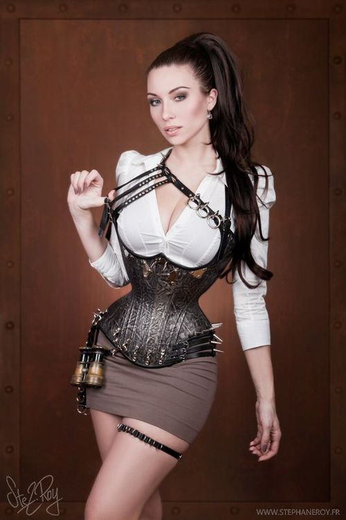 steam punk woman