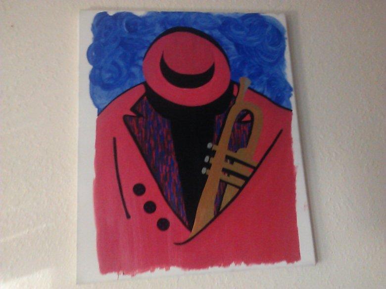 blues man by Gary Jones