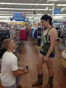 married in walmart