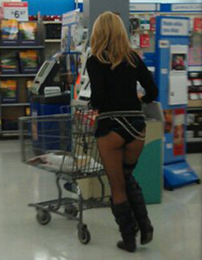 milf in wakmart