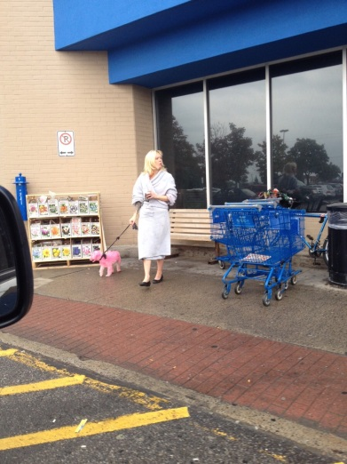 walmart in your robe