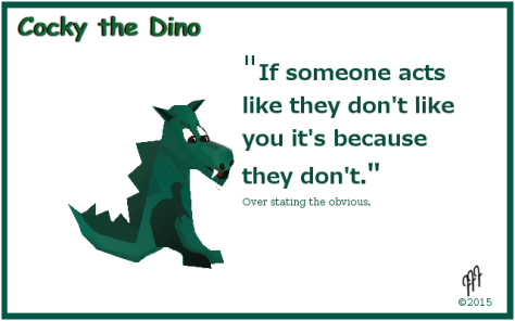 cocky the dino